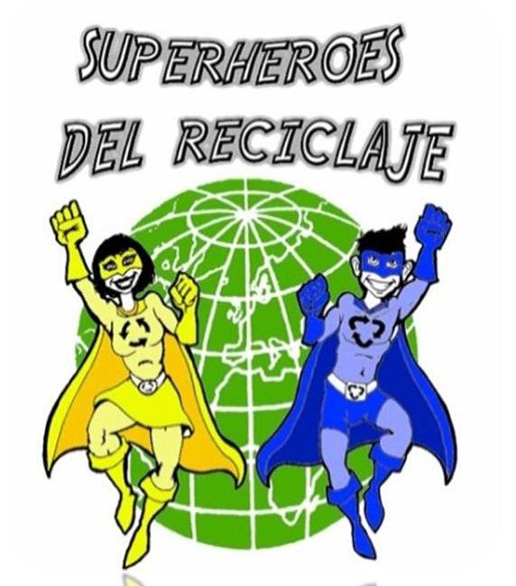 Super héroes del reciclaje