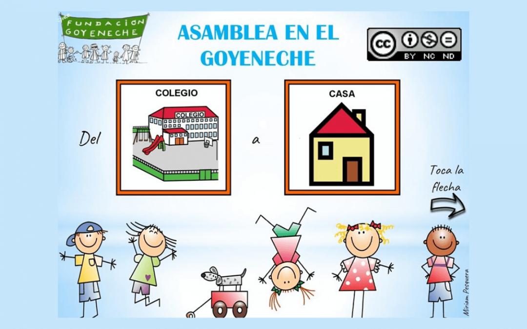 27 DE ABRIL: ASAMBLEA EN EL GOYENECHE